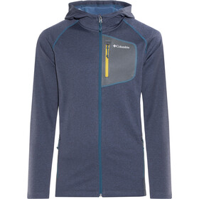 Columbia Jackson Creek II Veste à capuche Homme, phoenix blue heather/graphite
